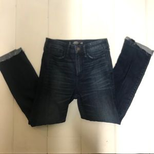 HOLLISTER | High rise skinny cropped jeans 26